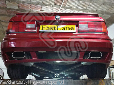 BMW 3 Series Custom Built Stainless Steel Exhaust Rear Dual System B318