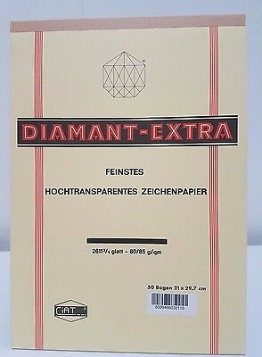 Blocco carta lucida Diamand Extra A4