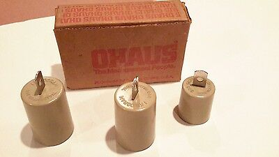 Ohaus 3 Piece Metric Attachment Weight Set, 707-00,  (1) 500g - (2) 1000g