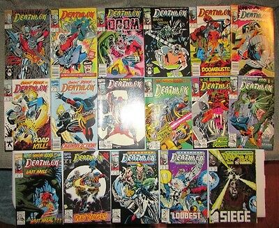Deathlok (1991 series) 17 issues lot 1-5, 8-19 NM
