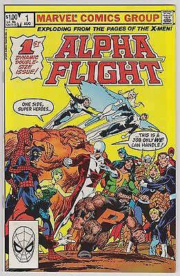 Alpha Flight #1 1983 and annual #1 1986 VF or better