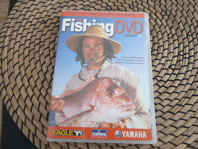 the fishing dvd number 6 2 hours of fishing action salt and freshwater locations