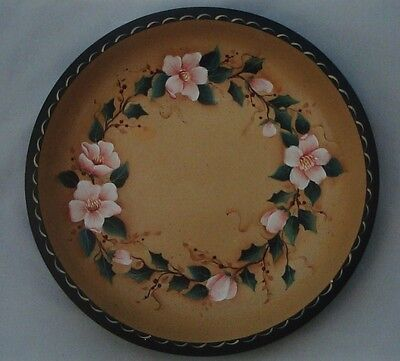 """Judy Diephouse/Lynne Deptula tole pattern """"Christmas Roses & Holly Bowl"""""""
