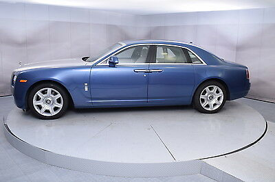 2013 Rolls-Royce Ghost in Metropolitan Blue with 39,059 miles 2013 ROLLS-ROYCE GHOST IN METROPOLITAN BLUE WITH SEASHELL GOOD CONDITION