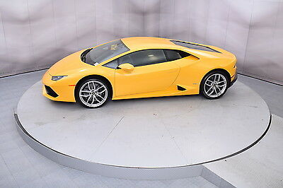 2015 Lamborghini Huracan Coupe in Giallo Midas with 5,408 miles 2015 LAMBORGHINI HURACAN LP610-4 COUPE IN GIALLO MIDAS LOW MILES