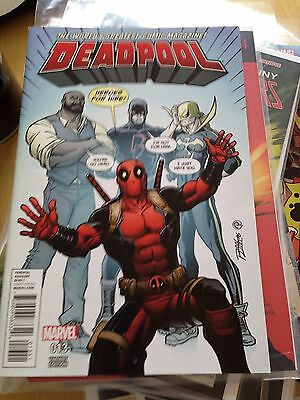 Deadpool (2016) #13 VF/NM 9.0 Heroes For Hire Variant Marvel