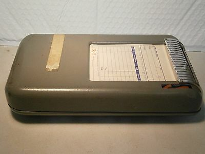 Moore Vintage Business Machine With Sales Slips Retail Credit Slip Duplicate