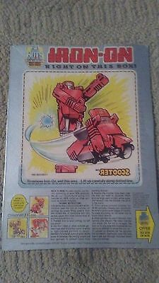 Vintage Post Cereal Go-Bots Tee-Shirt Iron-On Scooter