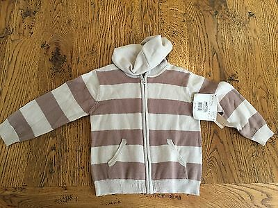 BOUT CHOU (French Label) - Boys Jumper/ Hoodie - Size 18 Months, BNWT