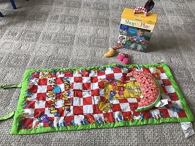 Infantino Shop & Play Picnic Time Shopping Cart / Highchair Cover and Playmat