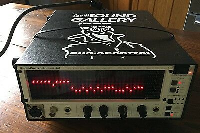 Audio Control Sa-3050A Third Octave Real Time Analyzer Used Ec With Upgrade