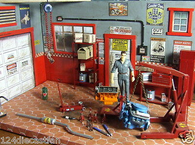 Lot of accessories for diorama 1/24 Collectible.