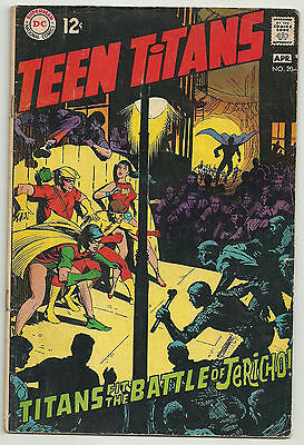 Teen Titans # 20 Neal Adams interior art