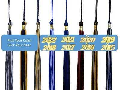 Graduation Tassel - 2 color for Cap & Gown Souvenir High School College