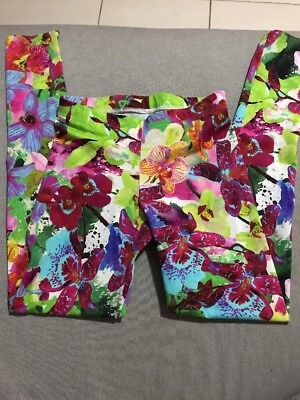 Black Milk A Pretty Orchid Situation HWMF Leggings Size M