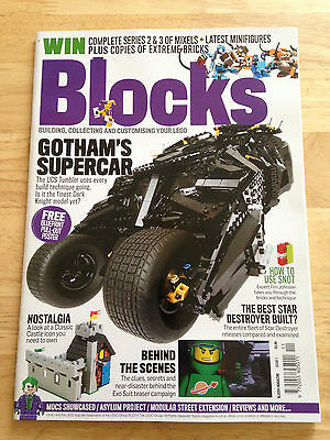 Sold Out Lego Blocks Magazine Issue #1 For Sale!