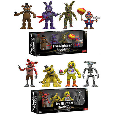 New Funko Five Nights at Freddy's Action Figure Set 4 Pack Freddy Bonnie Friends