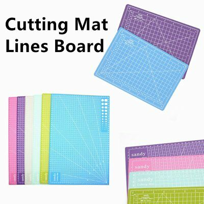 A3 Cutting Mat Self Healing Non Slip Craft Quilting Printed Grid Lines Board GH