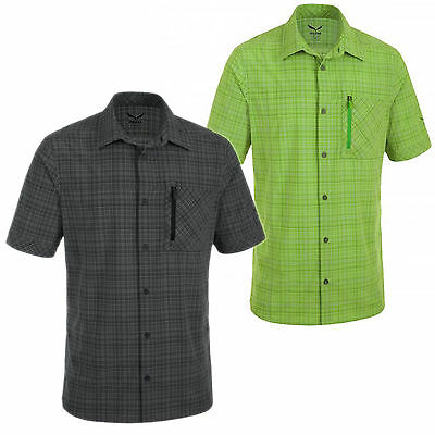 Salewa Isortoq 2 Dry Men's Short Sleeve Functional Shirt NEW
