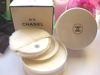 Chanel No.5 Xxl Körperpuder Perfumed Bath Body Talc Powder Neu Poudre Parfumé