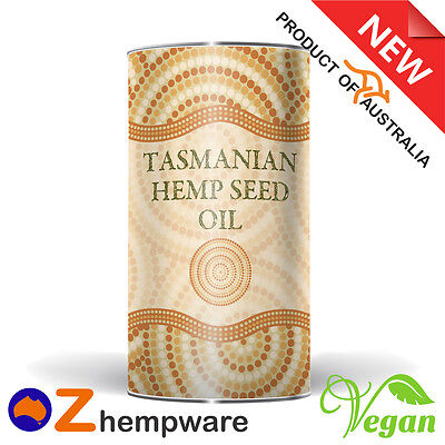 Hemp Seed Oil Tasmanian Grown Organic Cold Pressed Product Of Australia Fresh