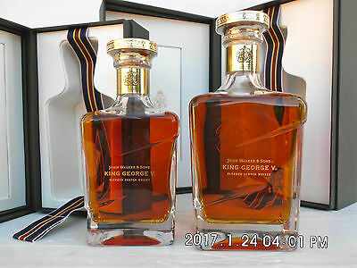 "Johnnie Walker King George V -Rare 500ML Size  ""The Jewel In The Crown"" RARE!!"