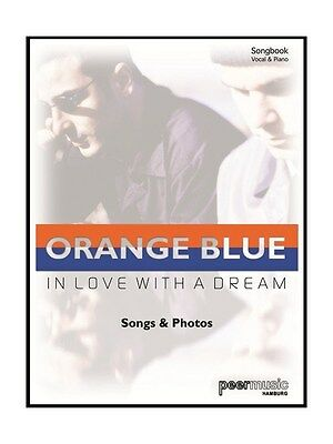 Orange Blue In Love With A Dream Learn to Play Present MUSIC BOOK Voice Piano