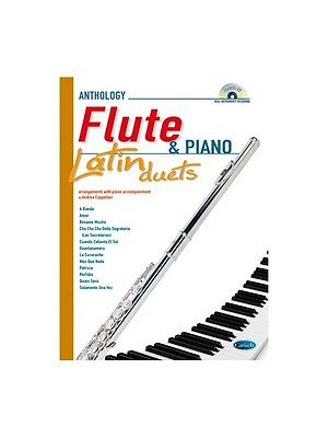 Latin Duets for Flute & Piano Learn to Play MUSIC BOOK & CD Flute Piano