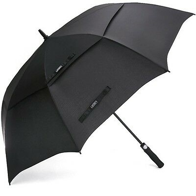 Golf Umbrella 68 Windproof Double Canopy Vented Extra Large Oversize Automatic