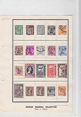 malaya + japan occupation stamps ref 7819