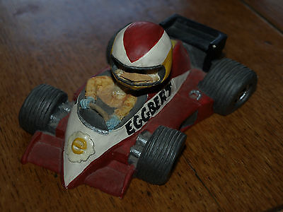 Eggbert, (large)  Racing Car collectors piece by MALCOLM BOWMER