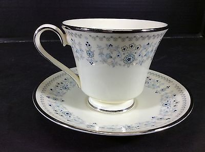 Beautiful Vintage  Minton Fine  English Bone China Footed Cup & Saucer