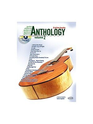 Anthology Guitar, Volume 2 Learn to Play Present Gift MUSIC BOOK & CD Guitar