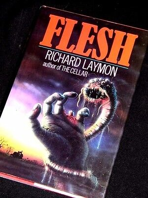 RICHARD LAYMON Flesh 1987 1st/First hb king koontz herbert horror