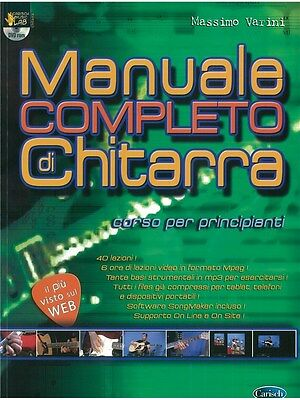 Manuale Completo di Chitarra Learn to Play Present MUSIC BOOK & DVD Guitar