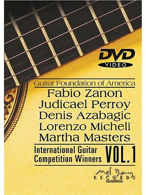 Guitar Foundation Of America Volume 1 Learn to Play MUSIC DVD Guitar