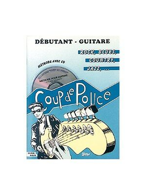 Débutant Guitare Rock, Volume 1 Learn to Play MUSIC BOOK & CD Guitar Tab