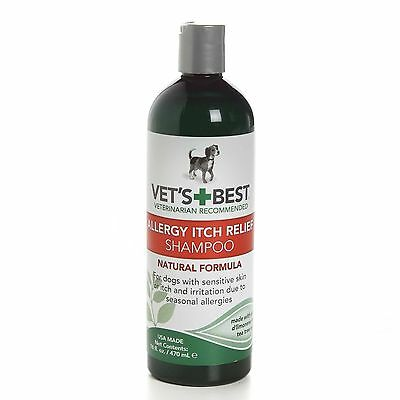 Vet's Best Allergy Itch Relief Shampoo for dogs 470ml (16floz)