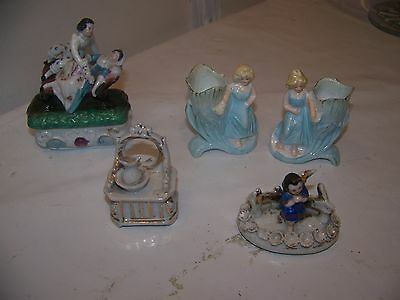 victorian fairings and posy vases
