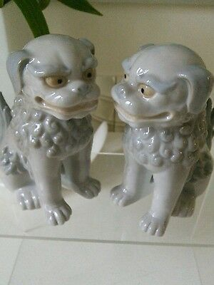 Vintage Pair of Chinese Foo Dogs