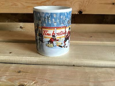 "Limited Edition Tim Horton's ""Winning Goal"" Collector Coffee Mug Cup"