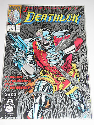 Deathlok #1    He's A Mean Machine - Part Fugitive, Part Bladerunner