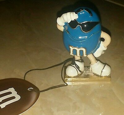 M&M Blue Characters Figurine