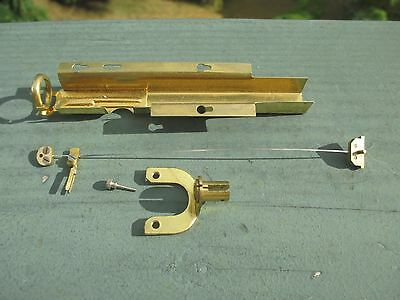 """Kundo 12"""" Anniversary 400 Day Clock Suspension Spring Wire Assembly Parts Repair"""