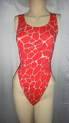 New Red Thong Leotard for Women size 10 Small