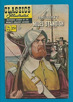 Classics Illustrated Comic Miles Standish by Longfellow #887
