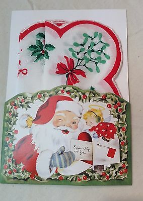 Darling New Christmas Hankie Mailable Gift Card