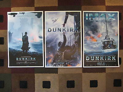 "Dunkirk ( 11"" x 17"" ) Movie Collector's Poster Prints ( Set of 3 )"