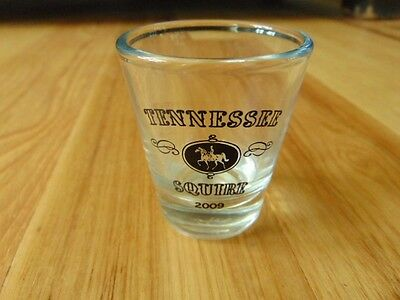 Jack Daniels 2009 Tennessee Squire Shot Glass