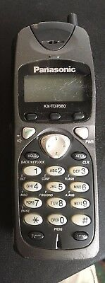 Panasonic KX-TD7680 Portable Phone, Sold as is, No charger